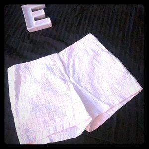 White Cynthia Rowley shorts